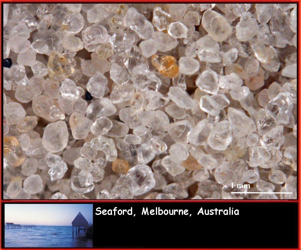 areia de quartzo